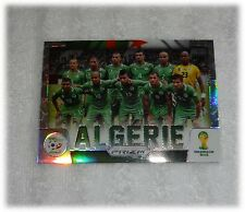 2014 Panini Prizm World Cup Refractor Team Photos - Algeria #1