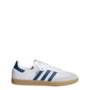 86c2df24f5612 New Adidas Men s Originals Samba OG Shoes (BD7545) White    Legend ...