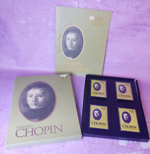 Frederic-Chopin-1976-Time-Life-Great-Men-of-Music-Cassettes-Missing-1-Set-of-3