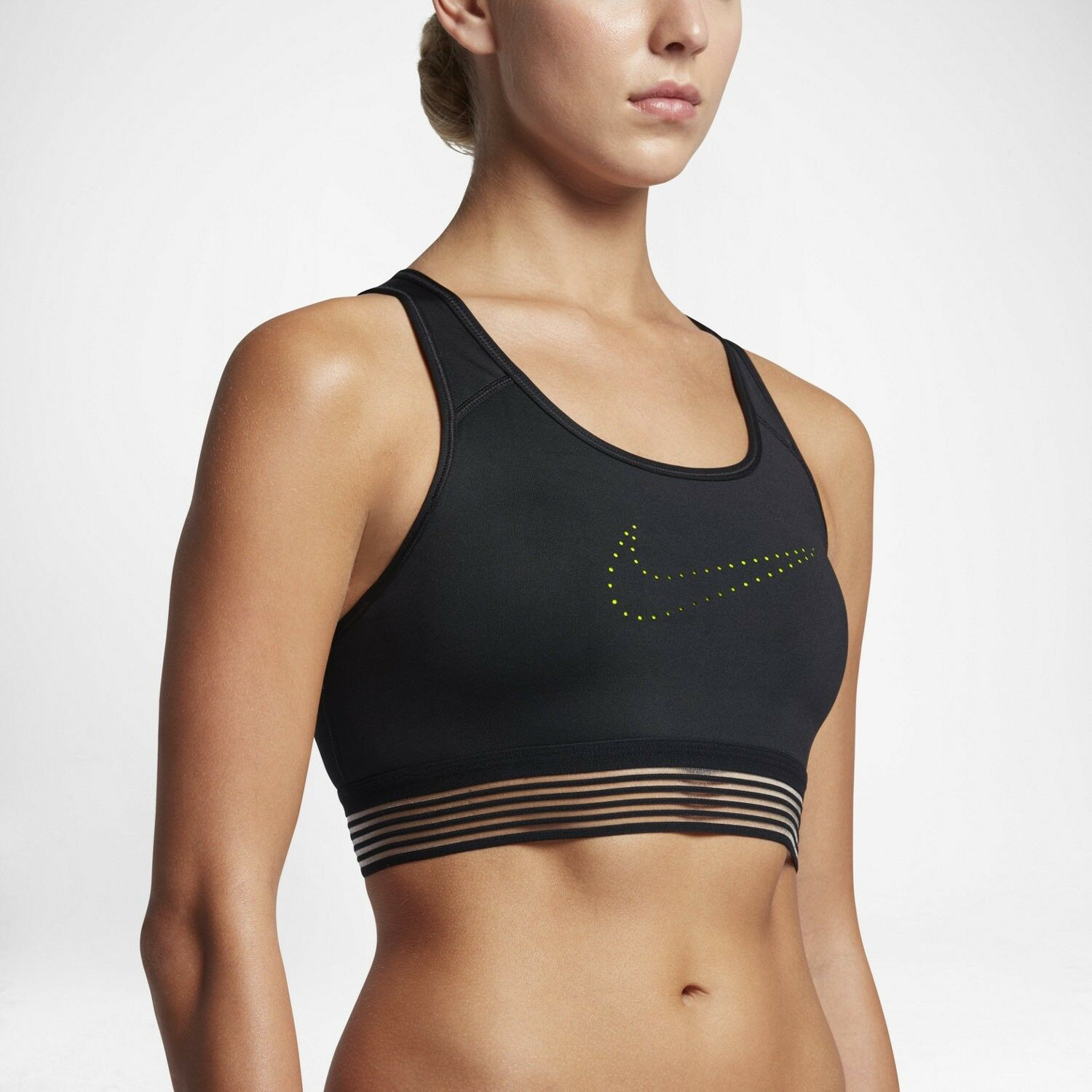 NIKE PRO CLASSIC Medium Support PADDED Sports Bra Size L