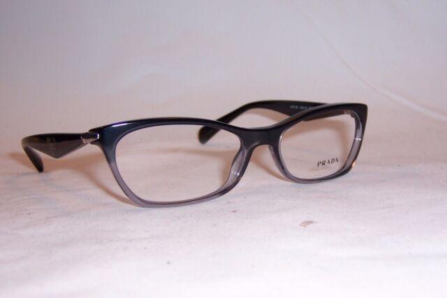 56ace45e45d6 PRADA Eyeglasses PR 15pv Zyy1o1 Black Transparent 53mm for sale ...