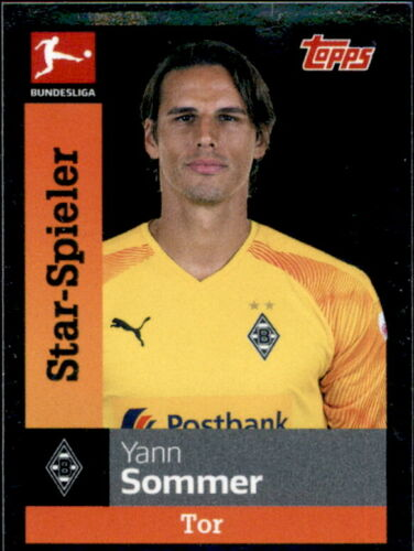 Star-Spieler TOPPS Bundesliga 2019//2020 Yann Sommer Sticker 200