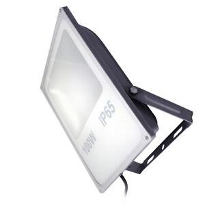 BIOLEDEX TODAL 100W LED Fluter 120° 7500lm 4000K Innen //Aussenbeleuchtung Grau
