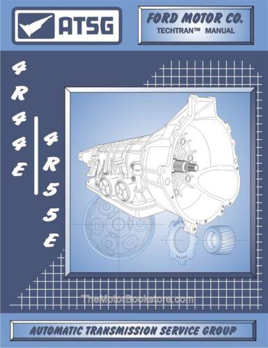 4R55E Transmission Rebuild Repair Manual 1995-2001 Ford 4R44E