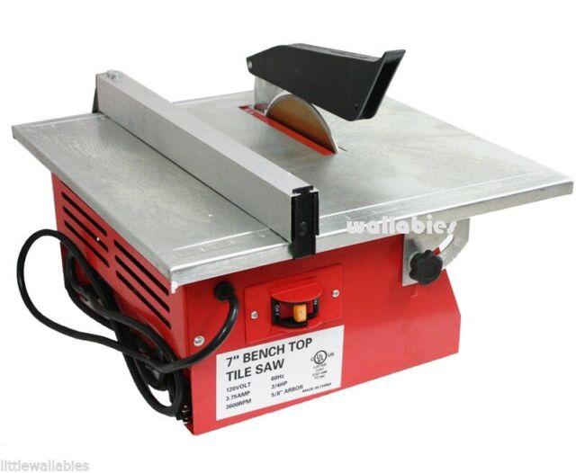 7 Electric Tile Saw Cutter Machine