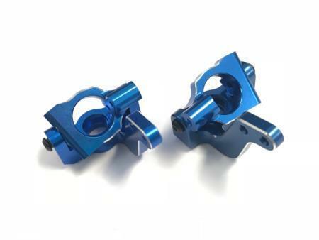 VTAS 01158 Vetta Racing Karoo Aluminio nudillo de dirección (Azul) (2)