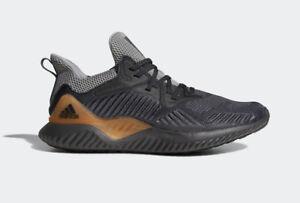 ac993c56699 adidas Alphabounce Beyond M Lillard Grey Brown Men Running Shoes ...