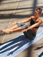 Athleta Mesh Mind Over Mat Capri in Black, S, Yoga Fitness Gym Workout Ret.$74