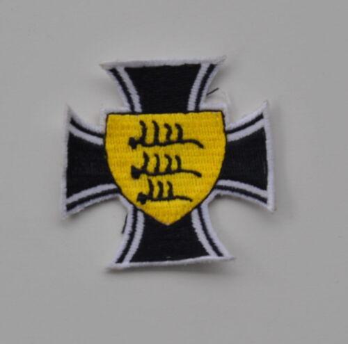 AUFNÄHER DEUTSCHLAND WÜRTTEMBERG FLAGGE EK OI EMBLEM D6