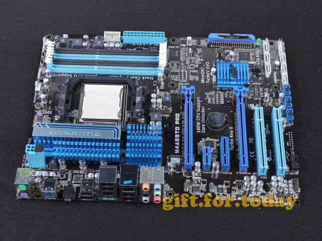 ASUS M4A89TD PRO Socket AM3 AMD 890FX USB3.0 DDR3 ATX Motherboard With I/O
