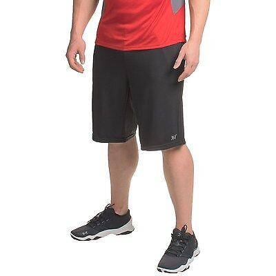"New Men/'s 361 Degrees BFit 10/"" Running Shorts Moisture Wicking Black Large"