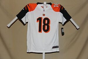 c9822335 Details about A.J. GREEN Cincinnati Bengals NIKE Game JERSEY Youth XL NWT  $70 retail white -s