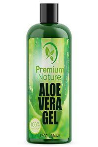 Un-gel-de-Aloe-Vera-Para-Cara-Cuerpo-y-Cabello-354-ml-Pure-amp-Natural-calma-eccema-despues-de