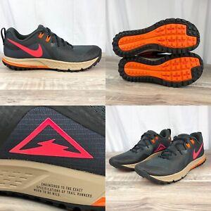 Nike-Zoom-Wildhorse-5-Smoke-Grey-Trail-Running-Shoes-AQ2222-002-Men-s-Sz-10-5