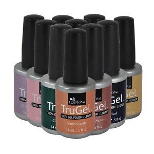Ezflow-TruGel-Soak-Off-Gel-LED-UV-Gel-Nail-Polish-0-5oz-Choose-any-1-color