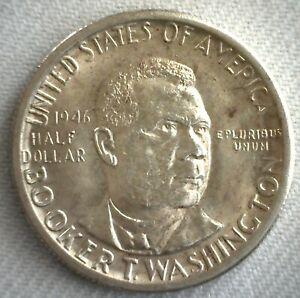 1946-D-Booker-T-Washington-Silver-Half-Dollar-Commemorative-Uncirculated-Coin