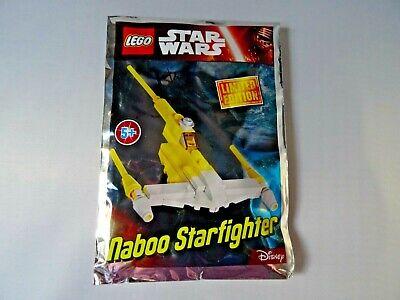654 Hitze Und Durst Lindern. GroßZüGig Bnib Foil Packed Limited Edition Naboo Starfighter