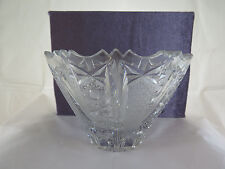 INSALATIERA IN VETRO MOLATO VINTAGE COPPA VINTAGE GLASS BOWL EARLY XX R34