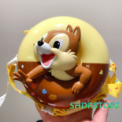 SHDR Chip Dale New year popcorn bucket Shanghai Disneyland Disney exclusive