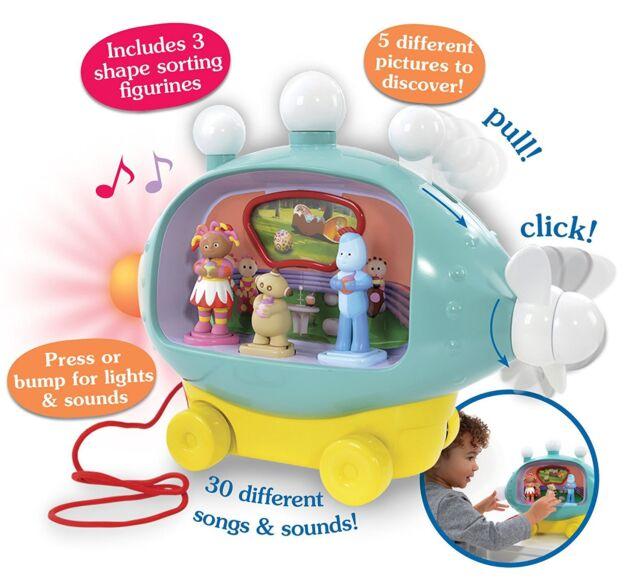 Garden Musical Activity Pinky Ponk