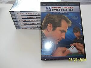 DVD lot of 9 Final Table Poker with Phil Gordon DVD ~NEW WITHOUT WRAPPER - Newburgh, New York, United States - DVD lot of 9 Final Table Poker with Phil Gordon DVD ~NEW WITHOUT WRAPPER - Newburgh, New York, United States