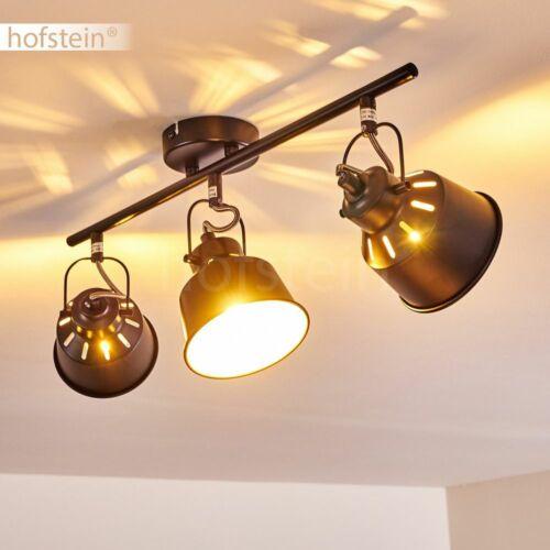 3-flammige Wohn Schlaf Zimmer Leuchten weiß Vintage Decken Lampen Flur Strahler