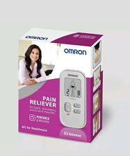 BRAND NEW BOXED SEALED OMRON E3 Intense Portable Tens Machine Pain Reliever
