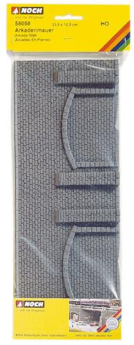 Arkadenmauer  Art.-Nr 1 St 58058 Spur H0 Noch