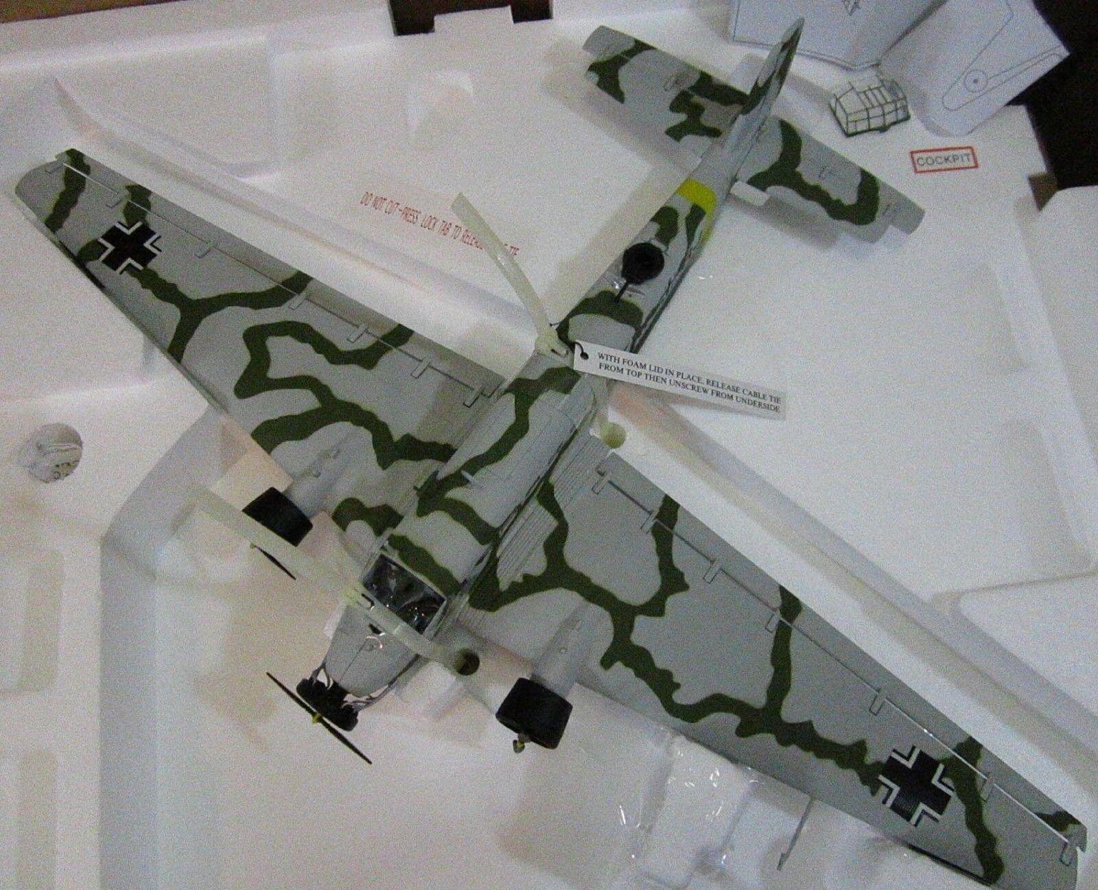 Franklin Mint Big Junker ju52-3m kgrzb Luftwaffe Alemania Noruega campaña 1 48 G1
