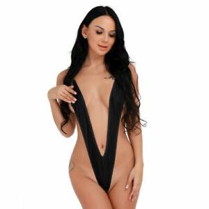 Women-039-s-Sling-Shot-Micro-Thong-Bikini-Sexy-G-String-Monokini-Swimwear-Swimsuit