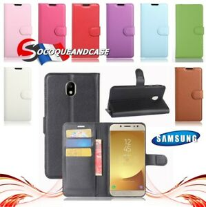 Coque-housse-XCOLOR-PU-Leather-Wallet-case-cover-pour-Samsung-Galaxy-All-Models