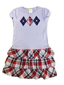 CRAZY-8-Size-14-Purple-Shortsleeve-Dress-100-Cotton