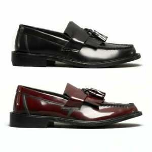 Blakeseys-SCOOTER-Mens-Casual-Smart-Real-Leather-Tassel-Slip-On-Loafers-Shoes
