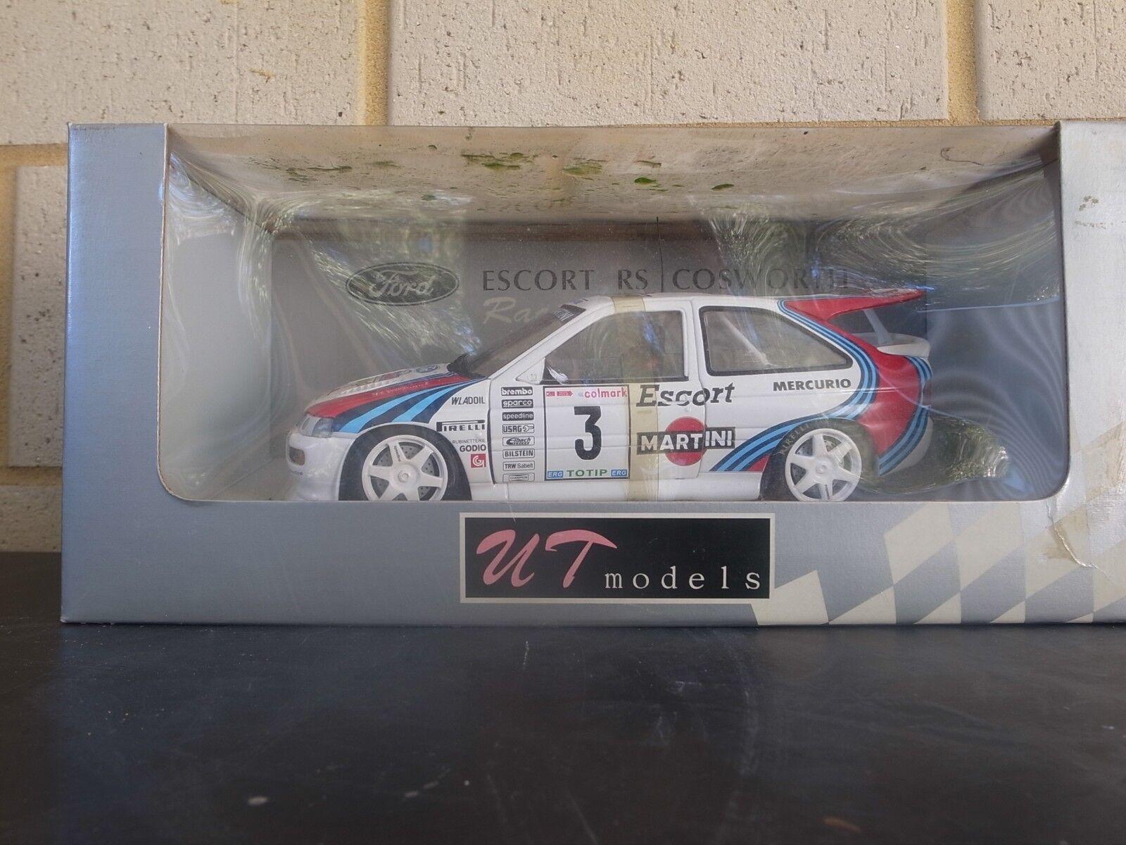 UT FORD ESCORT RS COSWORTH WRC model rally car 1000 Miglia '95 1:18