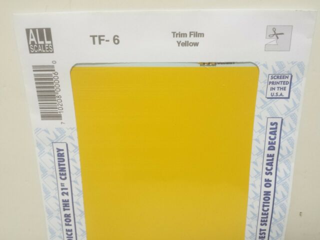 MICROSCALE Decalcomanie #TF-27//finitura Film//Size 7-1//4 x 4-1//2 ACCIAIO INOX
