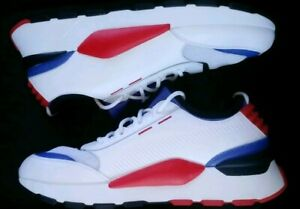 Details about NEW Puma RS-O Sound Sneakers 366890-01 White/Red/Blue Mens  Size 10.5