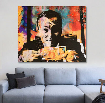 Wolf of Wall Street Leo DiCaprio Money shot Jordan Brewster Street Art