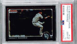 2010 Bowman Chrome Hanley Ramirez PSA 10
