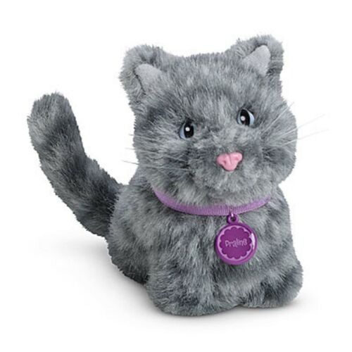 American Girl Doll Pet Kitten Praline NEW! Grey Cat