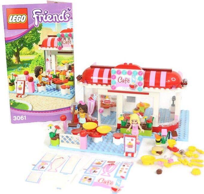 LEGO Friends 3061 City Park Cafe Andrea Maria RetiROT Instruction Manual