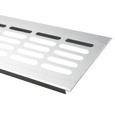 Aluminium Silber Lüftungsgitter 80 x 500 mm Sokkelgitter Heizungsgitter