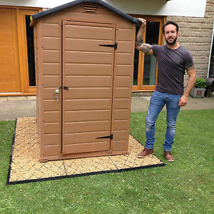 Image Is Loading FULL GARDEN SHED BASE KIT 5x4 IS ACTUALLY