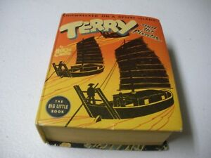 Terry-amp-The-Pirates-Big-Little-Little-Book-1938-FN-Shipwrecked-On-A-Desert-Isle