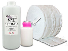 1000ml Nagel Cleaner Entfetter 500 Zelletten Dispender Pumpflasche Nail Set  Iso