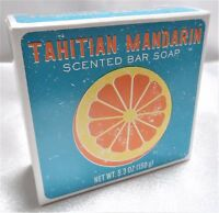 Cst Commonwealth Tahitian Mandarin Bath Bar Soap 5.3 Oz Mix And Match