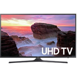 "Samsung 75"" 4K UHD with Wi-Fi Smart TV - WITH MANUF WARRANTY"