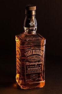 Peaky Blinders - Jack Daniels, Empty Engraved Bottle - FREE UK Post ...