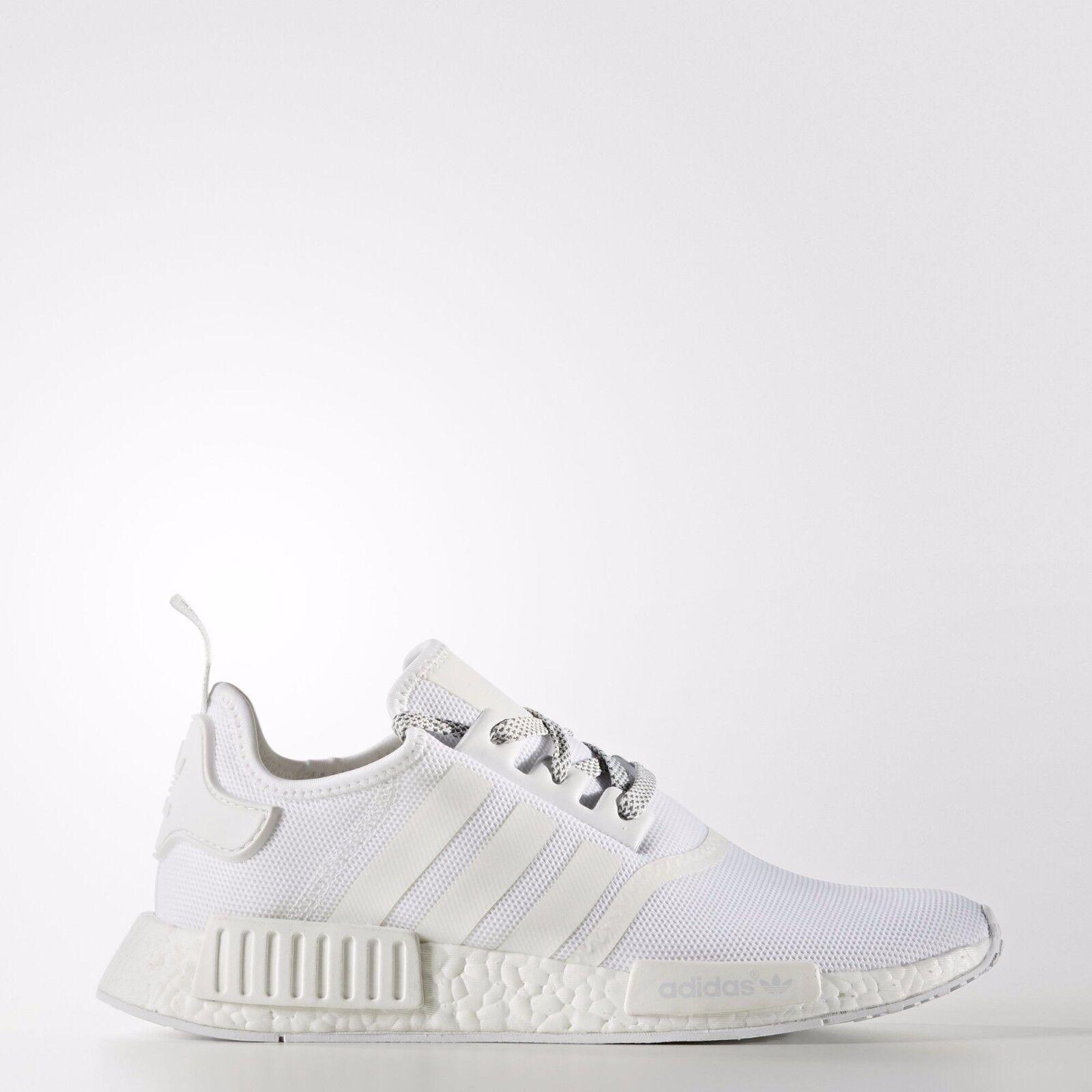 Adidas NMD R1 Triple White 3M REFLECTIVE Monochrome S31506 Men Size  mesh rare