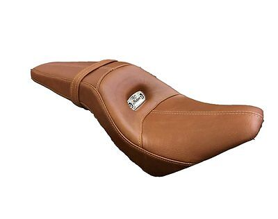 2880240-05 Indian Motorcycle Scout Leather Extended Reach Seat Tan