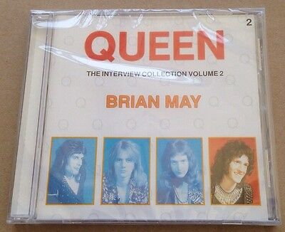 Brian May The Interview Collection Vol 2 Queen Freddie Mercury Related SEALED!
